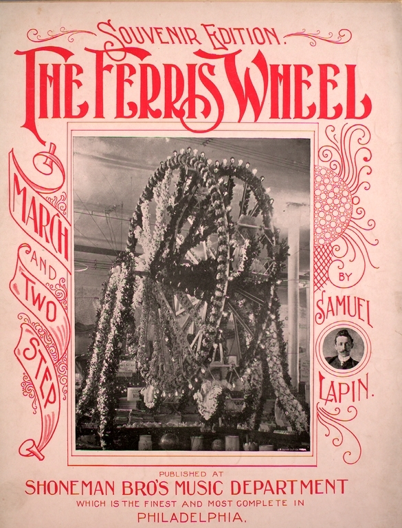 "<a href=""/items/browse?advanced%5B0%5D%5Belement_id%5D=50&advanced%5B0%5D%5Btype%5D=is+exactly&advanced%5B0%5D%5Bterms%5D=The+Ferris+Wheel+March+and+Two+Step+%28cover%29"">The Ferris Wheel March and Two Step (cover)</a>"