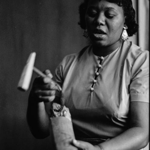 "<a href=""/items/browse?advanced%5B0%5D%5Belement_id%5D=50&advanced%5B0%5D%5Btype%5D=is+exactly&advanced%5B0%5D%5Bterms%5D=Portrait+of+Ella+Jenkins%2C+Chicago%2C+Illinois%2C+circa+1961."">Portrait of Ella Jenkins, Chicago, Illinois, circa 1961.</a>"