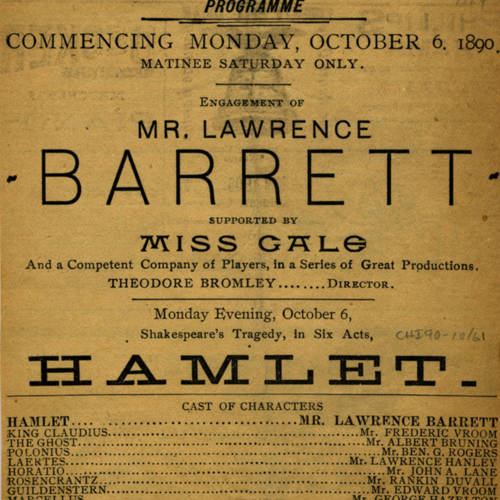 Chicago Opera House, Hamlet (October 6, 1890).jpg