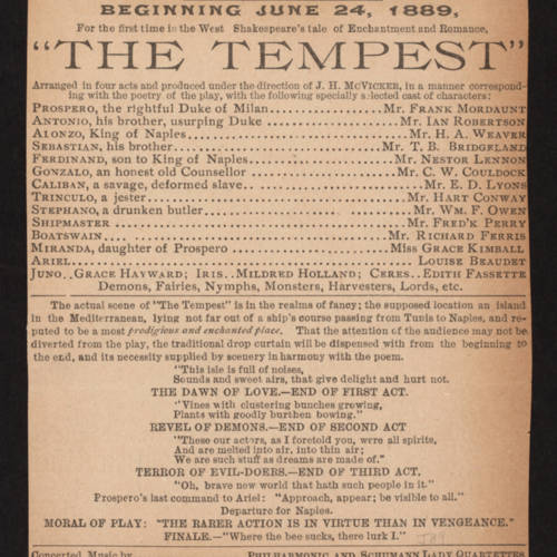 McVicker's Theatre, Tempest (June 24, 1889).jpg