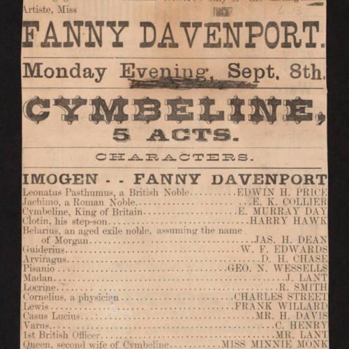 McVicker's Theatre, Cymbeline (September 8, 1892).jpg