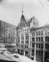 The Record-Herald Building or Home of the Fine Arts Journal-Historic Image