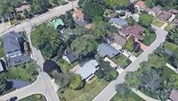 Elmer M. Blume's Resubdivision in Shore Acres Subdivision in Des Plaines - Google Earth