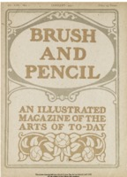 Cover Page of the Brush and Pencil Magazine