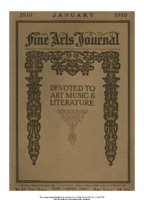 Cover Page of the Fine Arts Journal